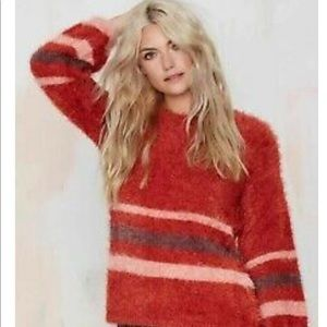 For Love and Lemons Fringe Sweater-Size Small